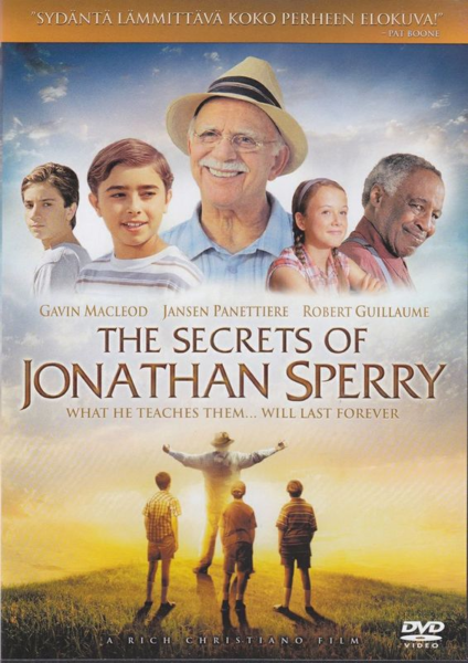 The Secrets of Jonathan Sperry -DVD